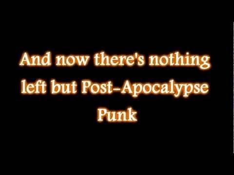 Abney Park - Post Apocalypse Punk (lyrics)