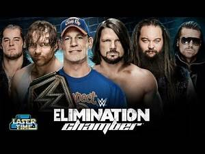 WWE Elimination Chamber 2017 Predictions