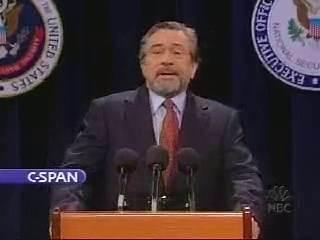 Robert De Niro has a Homeland Security message!