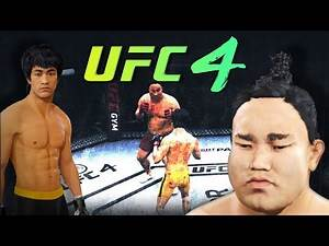 Bruce Lee vs. Yokozuna (sumo) - (EA sports UFC 4) rematch