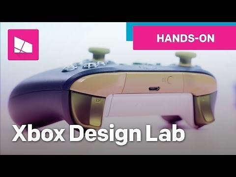 Xbox Design Lab Controller New Options: Metal & Rubber