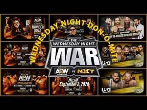 AEW DYNAMITE 9/2/20 Review; NXT SUPER TUESDAY (9/1/20) Recap; ALL OUT PPV Predictions More