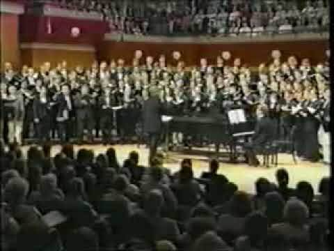 UGA Men's Glee Club We Shall Walk Through the Valley in Peace Arr. Appling