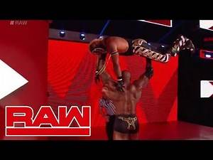 REY MYSTERIO RETURNS TO RAW! OPEN CHALLENGE VS LASHLEY