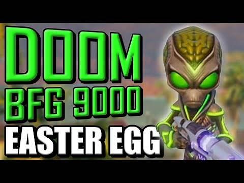 Destroy all Humans | Doom/BFG 9000 Easter Egg