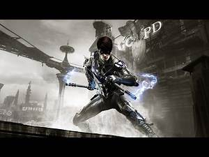 Batman: Arkham Knight - Nightwing: GCPD Lockdown (Full DLC Walkthrough)