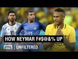 5 reasons Neymar has totally f****d it
