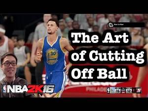NBA 2K16 Tutorial How to play and score with Off ball cuts. NBA 2K16 Offense Tipsl #97
