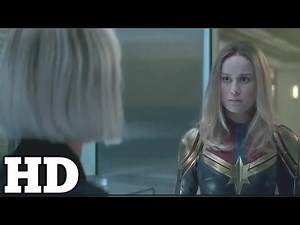 "Captain Marvel Post Credit Scene [HD] ""where's nick fury """