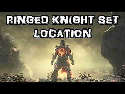 Dark Souls 3 The Ringed City DLC - Ringed Knight Set Location