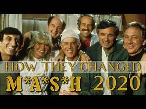M*A*S*H* cast then and now 2020 MASH how they changed