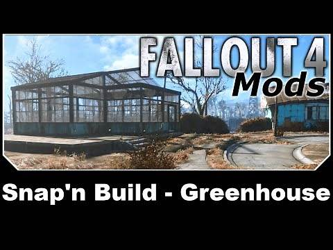 Fallout 4 Mods - Snap'n Build - Greenhouse