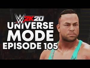 WWE 2K20 | Universe Mode - 'OLD SCHOOL RAW! | #105