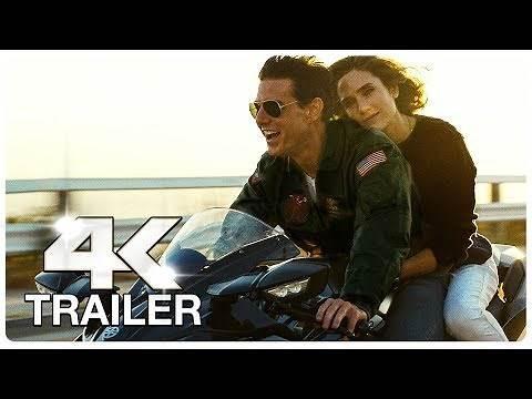 TOP GUN 2 MAVERICK : 4 Minute Trailers (4K ULTRA HD) NEW 2021