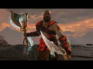 God of War - Wield Blades of Chaos w/ Leviathan Axe Tutorial Runic Attack Variations
