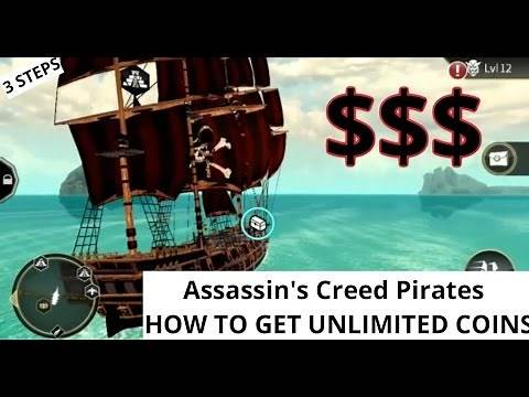 Assassin's Creed Pirates How To Get Millions of Coins! 3 Steps to UNLOCK EVERYTHING! NO HACKS/MODS
