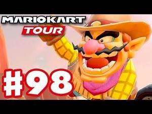 Wild West Tour 100% Complete! - Mario Kart Tour - Gameplay Part 98 (iOS)