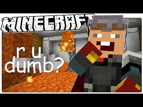 Minecraft   r u dumb?   10 RIDICULOUS Questions (Minecraft Custom Map)