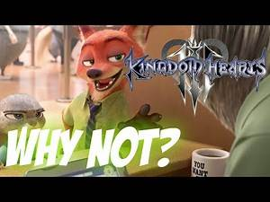 Could ZOOTOPIA Appear in Kingdom Hearts 3 or in the Future? *Warning Spoilers*