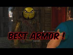 The Witcher 3 Best Armor