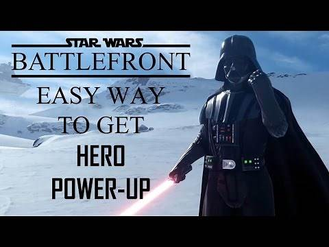 Star Wars Battlefront (2015) - How to get Hero Power-Up