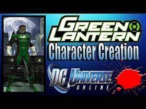 DCUO - Green Lantern Character Creation Tutorial