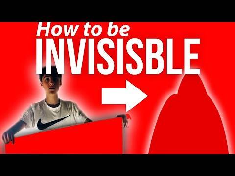 How To Make An Invisibility Cloak In Real Life Step By Step! | How to Be Invisible