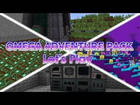 Biggest Modpack Ever!?!? (Omega Adventure Pack Spotlight - 457 Mods!!)