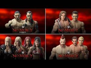 4 WWE No Mercy 2017 Matches revealed! (Fatal 4-Way Women's Match, Miz vs. Ziggler and more)
