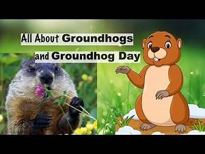Groundhog Day for kids | Groundhogs for kids | Groundhogs Fun facts | Groundhog Day song