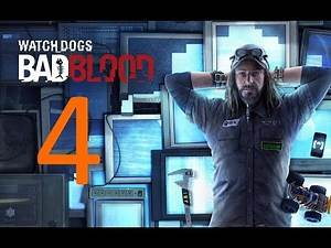 Watch Dogs - Bad Blood part 4 (Game Movie) (Cutscenes) (No Commentary)
