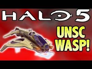 NEW WASP UNSC VEHICLE AND NEW WARZONE BOSS!!! (Halo 5 Warzone)