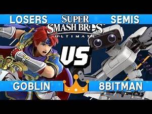 Smash Ultimate Tournament Losers Semis - Goblin (Roy) vs 8BitMan (ROB) - Overlords of Orlando