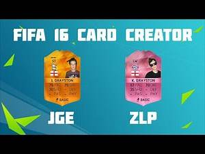 FIFA 16 CARD CREATOR!!! - #2 PACE & DRIBBLING