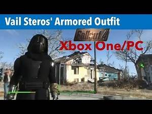 Fallout 4 Xbox One/PC Mods|Vail Steros' Armored Outfit