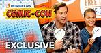 Tag It! Game - 'The Man From U.N.C.L.E.' Cast - Comic-Con (2015) HD