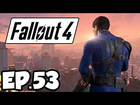 Fallout 4 Ep.53 - THE INSTITUTE DIVISION LEADERS!!! (Gameplay)
