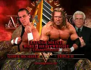 Triple H vs Shawn Michaels Armageddon 2002 3 Stages Of Hell VBOX7