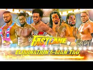 WWE 2K17 The New Day vs The Usos Feat. Rikishi   WWE Elimination Tag Full Match PS4 Gameplay