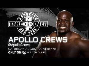 Apollo Crews makes his debut at NXT TakeOver: Brooklyn