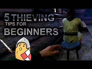 5 THIEVING TIPS for beginners in Kingdom Come Deliverance