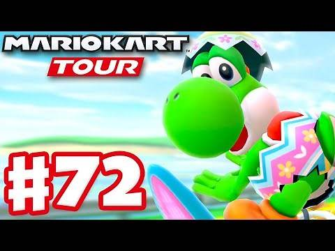 Yoshi Tour! Egg Hunt Yoshi! - Mario Kart Tour - Gameplay Part 72 (iOS)