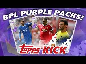 BPL PURPLE CARDS!! TOPPS KICK 100K PACK OPENING!! (GIVEAWAY)