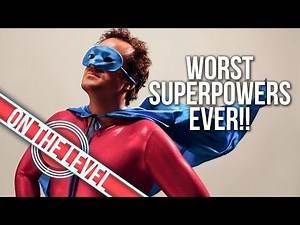 Top 10 Worst Superhero Powers Of All Time