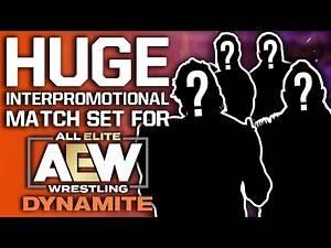 Huge Interpromotional Match Next Week On AEW Dynamite | Injured WWE NXT Star Announces Return