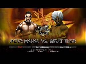 WWE 2K14 CAW Montage - 05 - Great Tiger (Punch-Out!!)