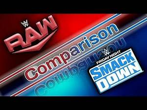 WWE Raw And Smackdown Full Graphics, Rosters, Logo Comparison || WWE Draft