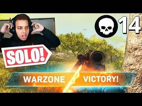 My FIRST SOLO WIN in WARZONE! (Modern Warfare Warzone)