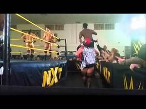 WWE NXT ADITL 1/15/16 cocoa fl house show