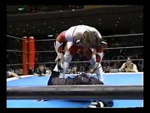 Jushin Liger vs The Great Sasuke Part 1
